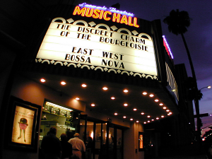 Laemmle Music Hall 3 in LA