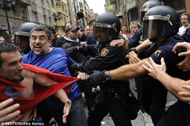 Spanis-Police