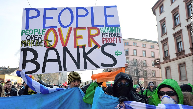 ecb-protest-bank