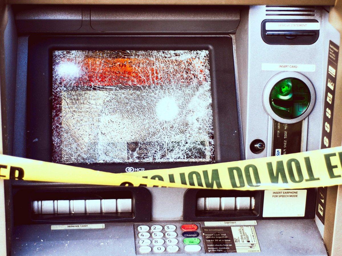 smashed-ATM