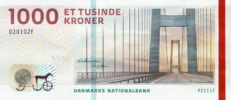 Danish Korona 1000