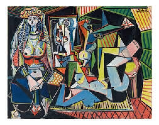 Picasso Les femmes d'Alger