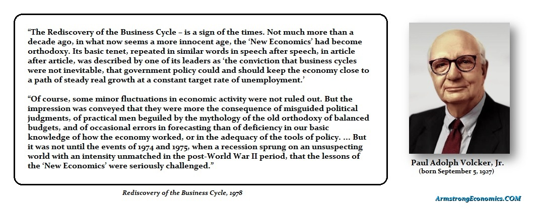 Volcker - Business Cycle