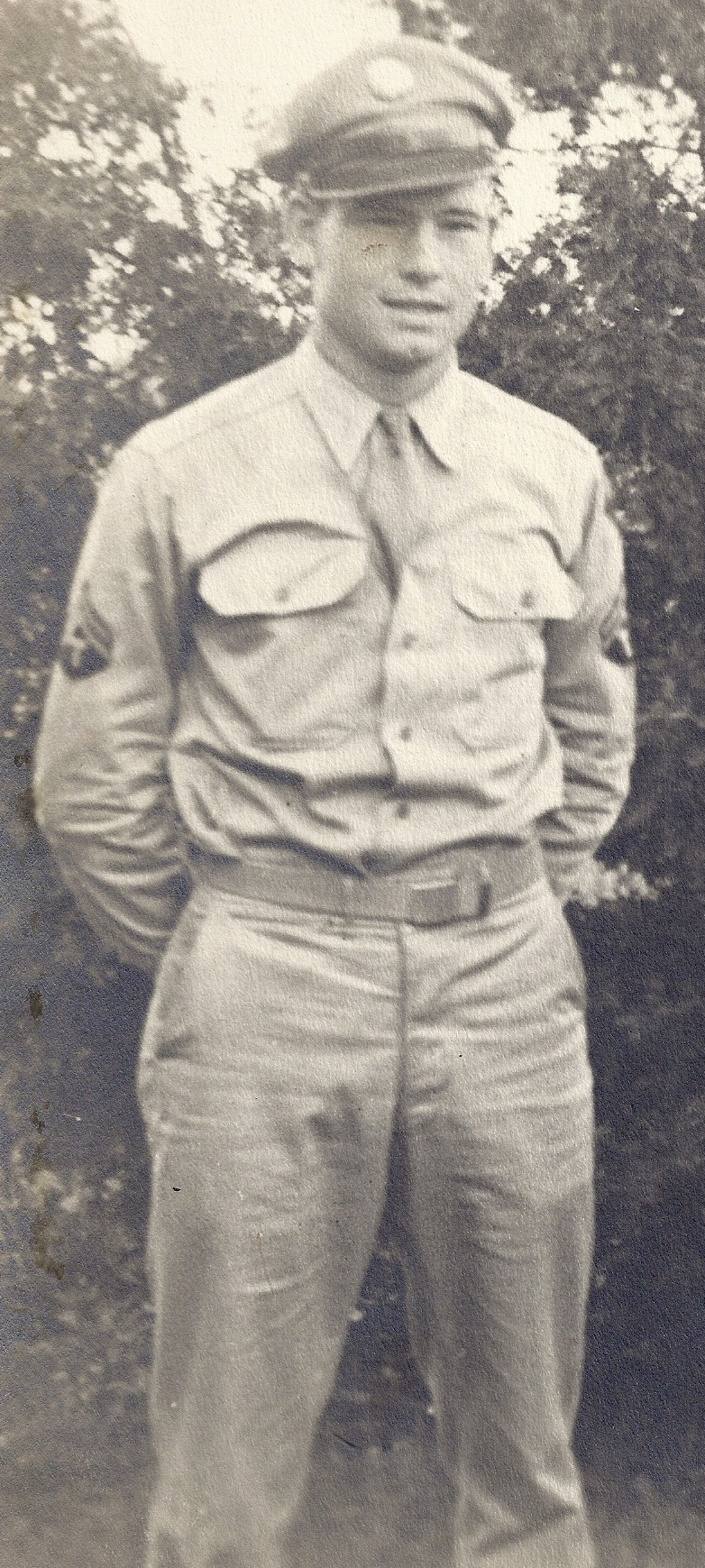 T/5 Robert Kreis (BOB) - Please describe who or what influenced your decision to join the Army.
