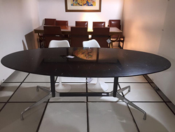 Mesa Segmentada Charles Eames Nero Maquina