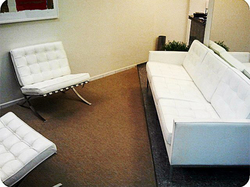 Ambiente - Poltronas Barcelona e sofá F.Knoll