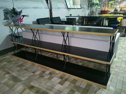 Estante Filox modular encabeçamento de madeira
