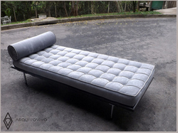 Couch Barcelona cinza