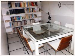 Ambiente - Mesa de vidro