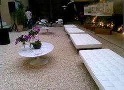 Ambiente - II Mesa de centro Saarinen e couch Barcelona