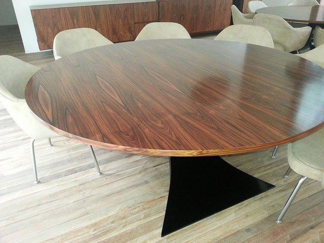 Mesa Oscar Niemeyer Pau Ferro 1.80 diam