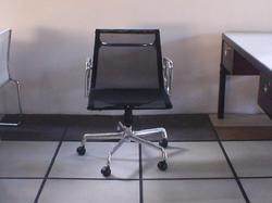 Cadeira Esteira média em tela com braço