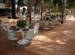 Ambiente - I Mesa Saarinen e cadeira conchinha sem braço base torre