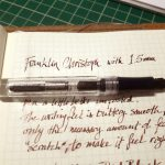 Pen and sample