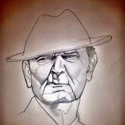 Bear_bryant_sketch_card
