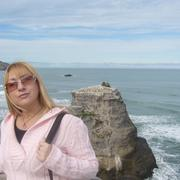 Irina_at_muriwai_beach_card