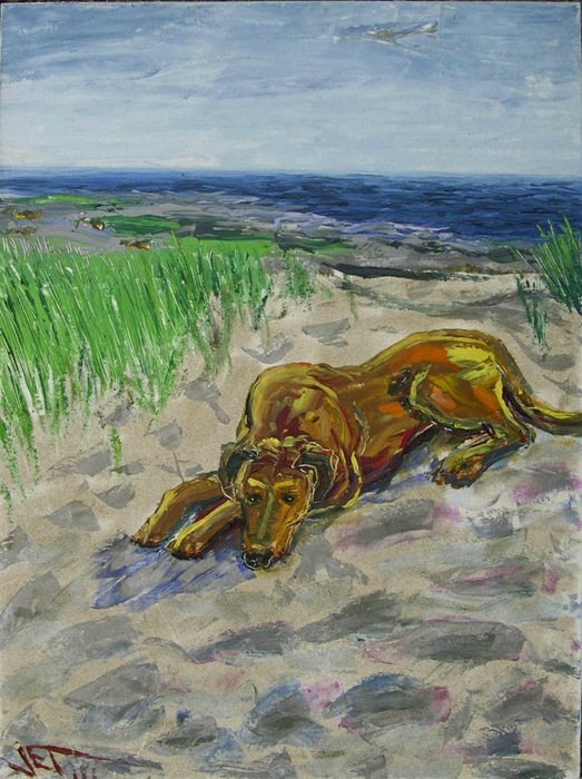 Reclining_on_the_dunes_card