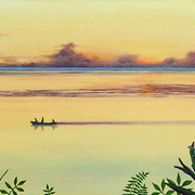 Early_morning_fishing_triptych__acrylic__card