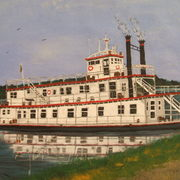 River_boat_card