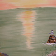 Heron_sunset_card