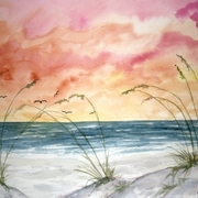 Abstract_seascape_painting_card