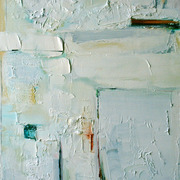 The_gift_of_a_memory_40cm_x_80cm_oil_2009_card