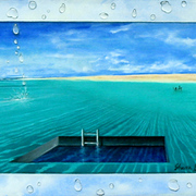 Swimimng_pool__acrylic__card