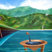 Tanoa__spear__plane__acrylic__card