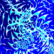 Abstract_blue_drawing_card
