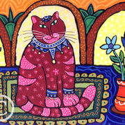Cat_and_flowers_card