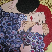Klimt_kiss_card