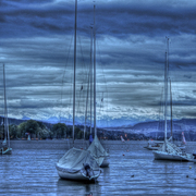 Swiss_lake_boats_hdr_card