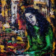 Galina-nikolova_self-portrait_55x46_card