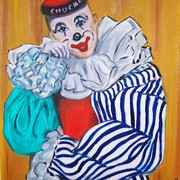 Clown_-_unframed_card