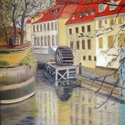 My_paintings__47__prague_mill_card