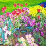 My_paintings__58__descanso_flowerbed_6-06_card