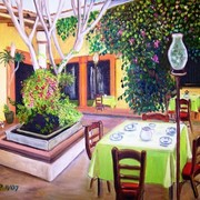 Mexican_garden_restaurant_-_2008_-_24x20_card