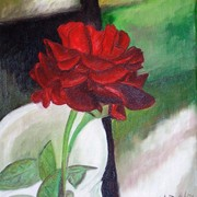 Jennifer_s_rose_9-13-07_9x12_oil_on_canvas_card