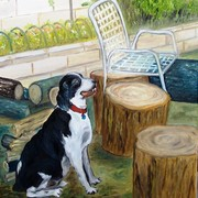 Tony_s_dog_-_12x16_-_11-07_oil_on_canvas_card