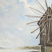 Nessebar_windmill_card