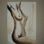 Nude_line_and_wash_card