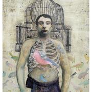 Foreign_body____oil_on_board_card