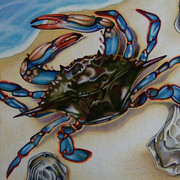 Nancy_jacey_blue_crab_pencil_card