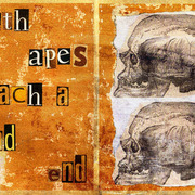 Earth_apes_reach_a_dead_end_card