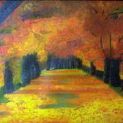 The_street_oil_on_canvas_71x40_mdshahab_card