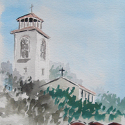 Sozopol_church_card