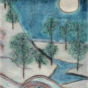 Pastel31_winter_s_night_card