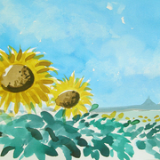 Sunflowers_card