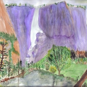 Water_color_scene_purple_mountain__3-30-09_card