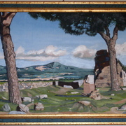 Montecavo_from_via_appia_80x50_card